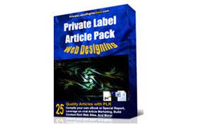 PLR Article Pack - Web Designing