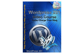 WordPress 201 Video Course Turbo Charge Your Blog