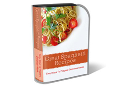 WP Theme and HTML Template Great Spaghetti Recipes