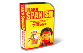 WP Theme and HTML Template Learn Spanish