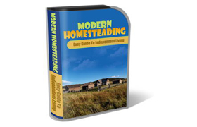 WP Theme and HTML Template Modern Homesteading