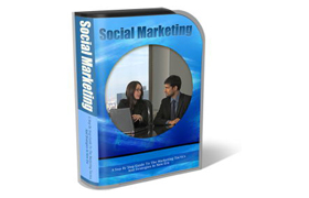 WP Theme and HTML Template Social Marketing
