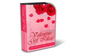 WP Theme and HTML Template Valentine Gift Ideas