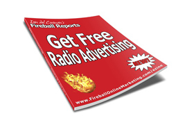 Get Free Radio Advertising