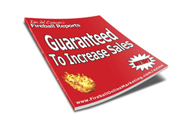 Guaranteed To Increase Sales