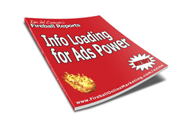Info Loading for Ads Power