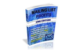 Mailing List Profits 2nd Edition