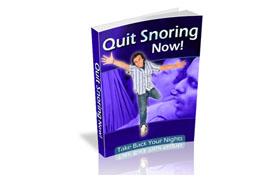 Quit Snoring Now