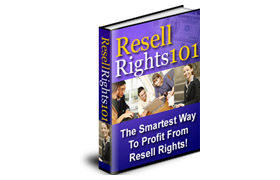 Resell Rights 101