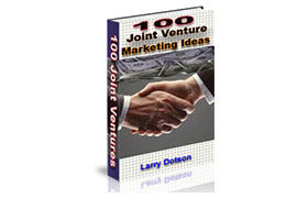100 Joint Venture Marketing Ideas