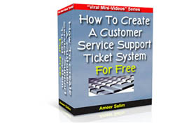 Customer Service Support Ticket