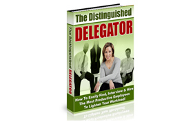 The Distinguished Delegator PLUS Audio