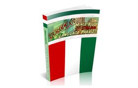 European Mini E-Book Italian Language Phrases