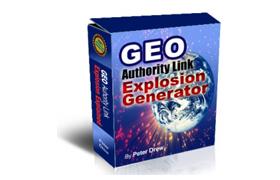 GEO Authority Link Explosion Generator