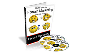 Highly Effective Forum Marketing Training Videos