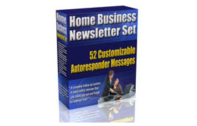 Home Business Newsletter Set