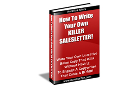 How To Write You Own Killer Sales Letter