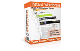 Instant WordPress Super Adsense Themes Pack