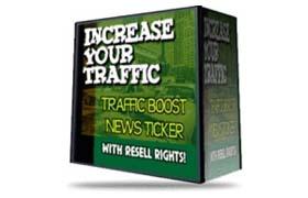 Traffic Boost News Ticker