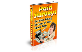 Get Paid Taking Surveys In Your Spare Time