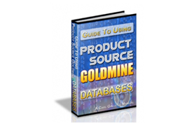 Guide To Using Product Source Goldmine Databases