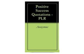 Positive Success Quotations