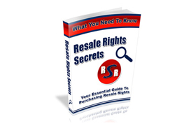 Resale Rights Secrets