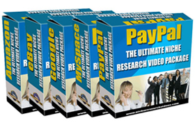 The Ultimate Niche Research Package Videos