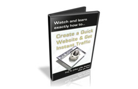 Create A Quick Website And Get Instant Traffic
