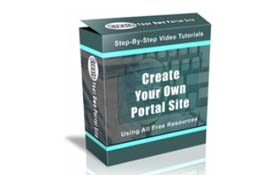 Create Your Own Portal Site Using All Free Resources