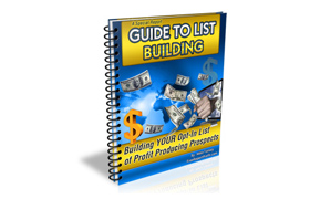 A Special Report Guide To List Building