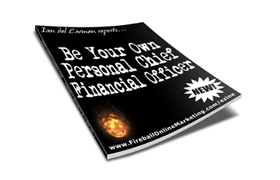 Be Your Own Personal Chief Financial Officer