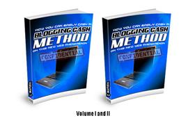Blogging Cash Method Volume 1 and 2
