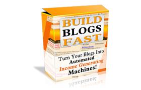 Build Blogs Fast