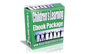Children's Learning Ebook Package