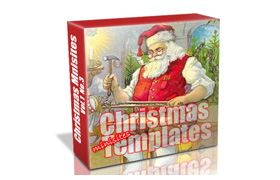 Christmas Minisite Templates Volume 1
