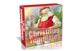 Christmas Minisite Templates Volume 2