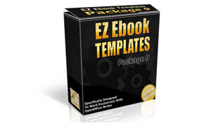 EZ Ebook Templates Package V9