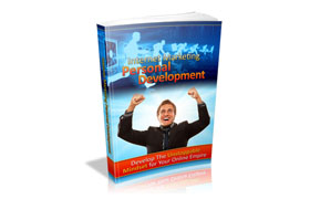 Internet Marketing Personal Development