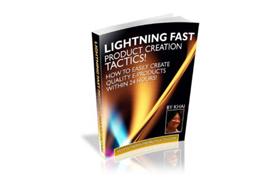 Lightning Fast Product Creation Tactics