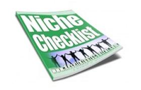 Niche Checklist