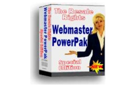 Webmaster Power Pak