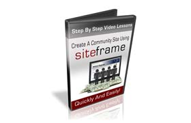 Create A Community Site Using Siteframe