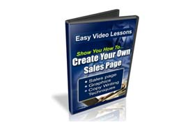 Create Your Own Sales Page