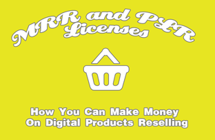 MRR and PLR Licenses - How You Can Make Money On Digital Products Reselling
