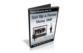 Set Up A Forum Using SMF