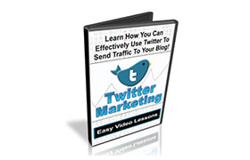 Twitter Marketing Easy Video Lessons