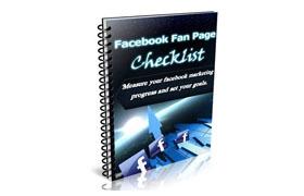 Facebook Fan Page Checklist