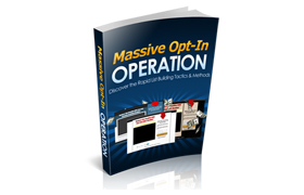 Massive Optin Operation