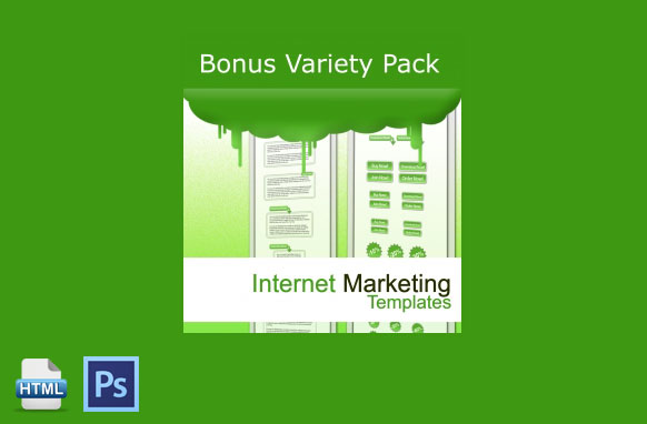 Bonus Variety Pack Internet Marketing Templates